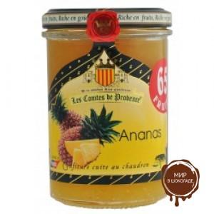 Джем из ананаса 240гр, 65% фруктов