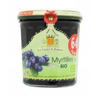 Джем из черники Organic   350гр,   64% фруктов