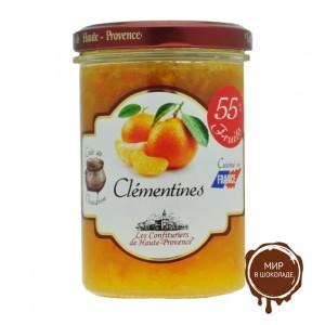 Джем из клементина  240гр,  55% фруктов  серия Джемы северного Прованса