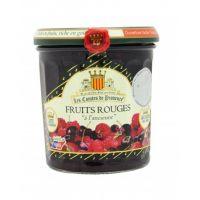 Джем из красных ягод (клубника, вишня, малина, красная смородина)  по старинному рецепту