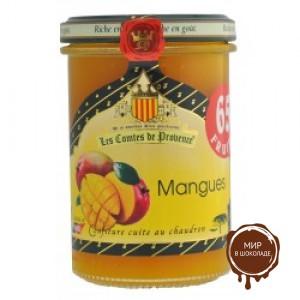 Джем из манго 240гр, 65% фруктов Серия Гурмэ