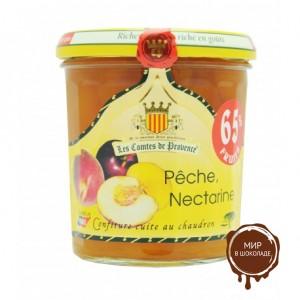 Джем из персика и нектарина по  средиземноморскому рецепту, 340 г.