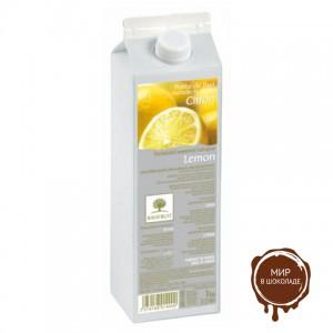 Пастеризованное пюре в тетрапаке Лимон Ravifruit, 1 кг.