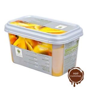 Замороженное пюре гранулированное Манго Ravifruit, Франция, 1 кг.