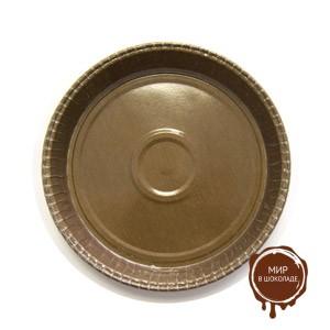 Форма бумажная  ОПТИМА 90/110 h21 коричневая (короб 1400 шт.)