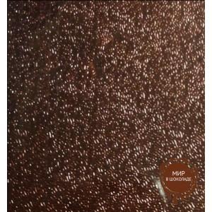 Упаковочная фольга для конфет коричневая 10*10 см, 100 шт.