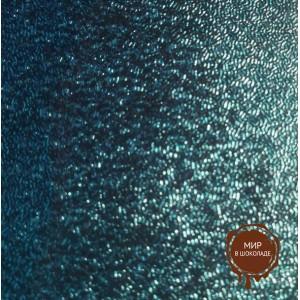 Упаковочная фольга голубая для конфет 10*10 см, 100 шт.
