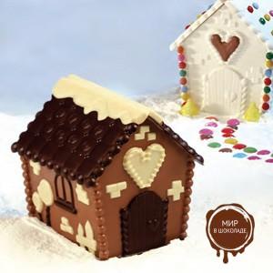 Комплект форм для шоколада ДОМИК (короб 1 нб.)