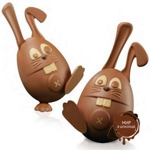 Комплект форм для шоколада КРОЛИК ( 1 нб.)