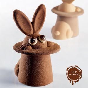 Комплект форм для шоколада ВОЛШЕБНЫЙ ЗАЙЧИК ( 1 нб.)