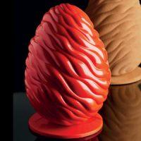 Комплект форм для шоколада ЯЙЦО флюид,  1 нб.