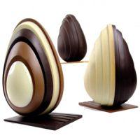 Комплект форм для шоколада ЯЙЦО прилив, 1 нб.