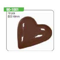 """Форма для отливки шоколадных фигурок - """"Маленькие сердечки"""" (90-1001), шт."""