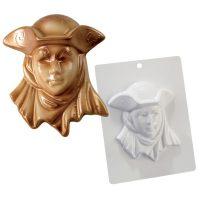 """Форма для отливки шоколадных фигурок - """"Венецианская маска"""" (20-CA005), шт."""