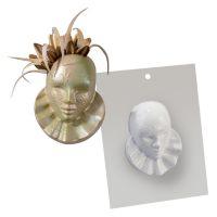 """Форма для отливки шоколадных фигурок - """"Венецианская маска"""" (20-CA009), шт."""