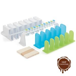 Комплект форм для фруктового льда и эскимо (короб 1 нб.)