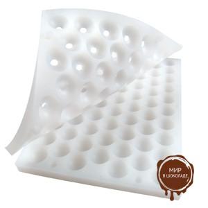 Форма силик. для конфет ПРАЛИНЕ сфера (короб 1 шт.)