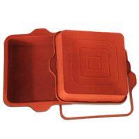 Форма силиконовая УНИФЛЕКС пирог квадратный, 1 шт.