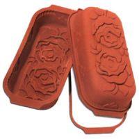 Форма силиконовая УНИФЛЕКС кекс с розами ( 1 шт.)