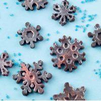 Форма силиконовая ИЗИ-ШОК снежинки (короб 1 шт.)