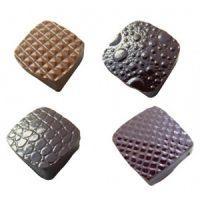 Форма-лист для шоколада РЕЛЬЕФ, 32 штуки