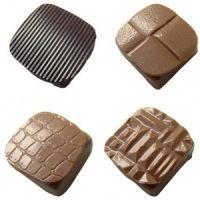 Форма-лист для шоколада РЕЛЬЕФ (32 шт.)
