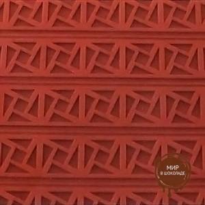 Коврик силиконовый трафаретный Квадрат греческий, 1 шт.