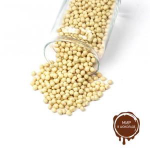 Воздушная пшеница в белом шоколаде, 3 кг.