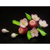 """Цветы из мастики - """"Букет цветов с яблоками"""" (11105*M/p), шт."""