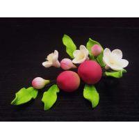 """Цветы из мастики - """"Букет цветов со сливами"""" (11105*S/p), шт."""
