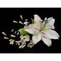 """Цветы из мастики - """"Букет лилий"""" (11110/p), шт."""