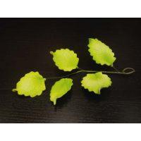 """Цветы из мастики - """"Ветка с листьями"""" (11169/p), шт."""