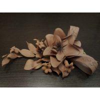 """Цветы из мастики - """"Шоколадный букет"""" (11174/p), шт. Под заказ!"""