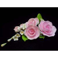 """Цветы из мастики - """"Букет роз"""", Розовый (11181*Bi/p), шт."""