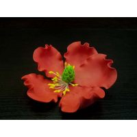 """Цветы из мастики - """"Цветок мака"""", Красный (11924*D/p), шт."""