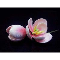 "Цветы из мастики - ""Бутоны тюльпана"", Розовые, 2шт. (11927*B/p), шт."
