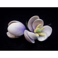 """Цветы из мастики - """"Бутоны тюльпана"""", Лиловые, 2шт. (11927*V/p), шт."""