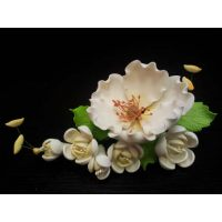 """Цветы из мастики - """"Яблоневый цвет"""", Белый (11985i/p), шт."""