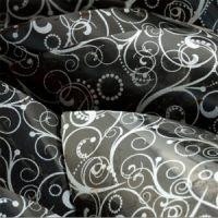 Трафаретный лист-пленка узор серебро