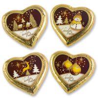 "Шоколадное сердце ""Рождество"", 40 шт."