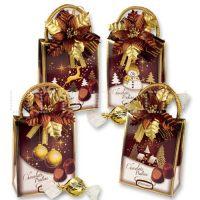 Сумочки с шоколадными конфетами, 12 шт.