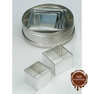 Форма-резак металл. КВАДРАТ ( 6 шт.)