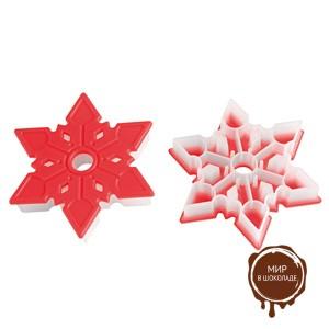 Форма для печенья пластик. СНЕЖИНКА ( 1 шт.)