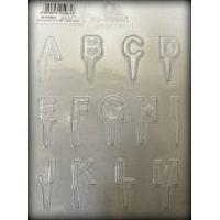 """Форма для отливки шоколадных фигурок - """"Алфавит от А до М"""" (90-P9661), шт."""