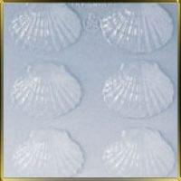 """Форма для отливки шоколадных фигурок - """"Морская ракушка"""" (90-12876), шт."""