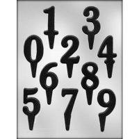"""Форма для отливки шоколадных фигурок - """"Цифры-вставки"""" (90-P9645), шт."""