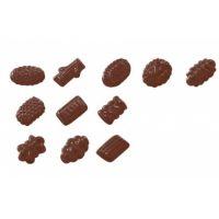 """Форма для отливки шоколадных фигурок - """"Конфеты"""" (90-5112), шт."""