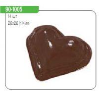 """Форма для отливки шоколадных фигурок - """"Сердца"""" , шт."""