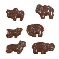 """Форма для отливки шоколадных фигурок - """"Африканские животные"""" (90-11185), шт."""