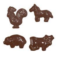 """Форма для отливки шоколадных фигурок - """"Домашние животные"""" (90-11210), шт."""